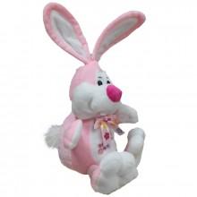 Кролик с бантом (С) 35см