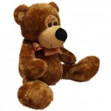 Медведь с бантом (М) 30см