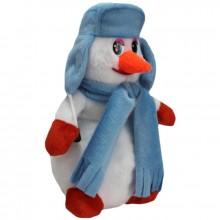 Снеговик в шапке (мини)Пл