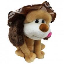 Собака в шляпе 22см